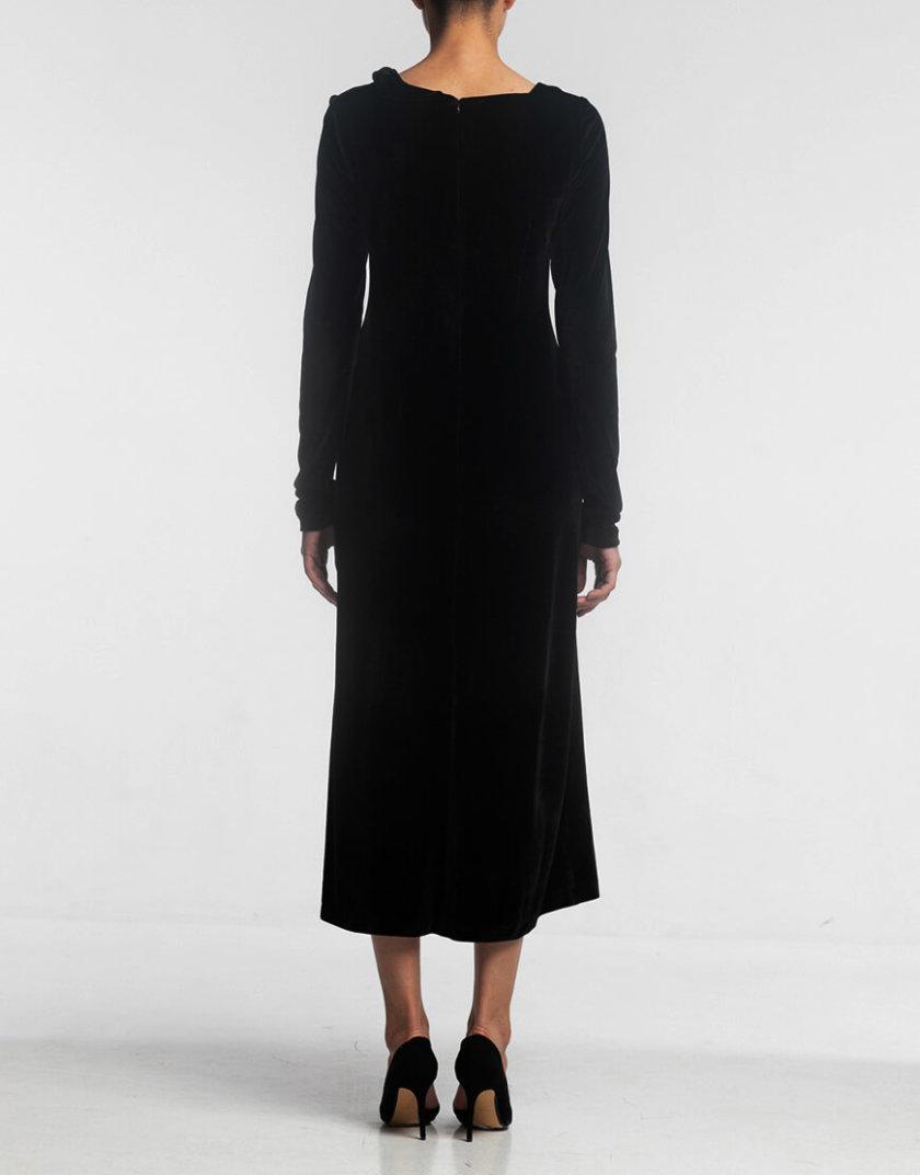 Платье с асимметричной горловиной ALOT_100363, фото 1 - в интеренет магазине KAPSULA