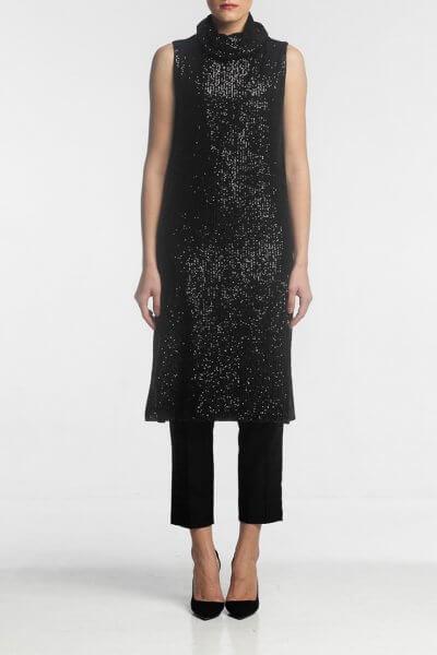 Платье-туника в пайетки ALOT_100371, фото 1 - в интеренет магазине KAPSULA