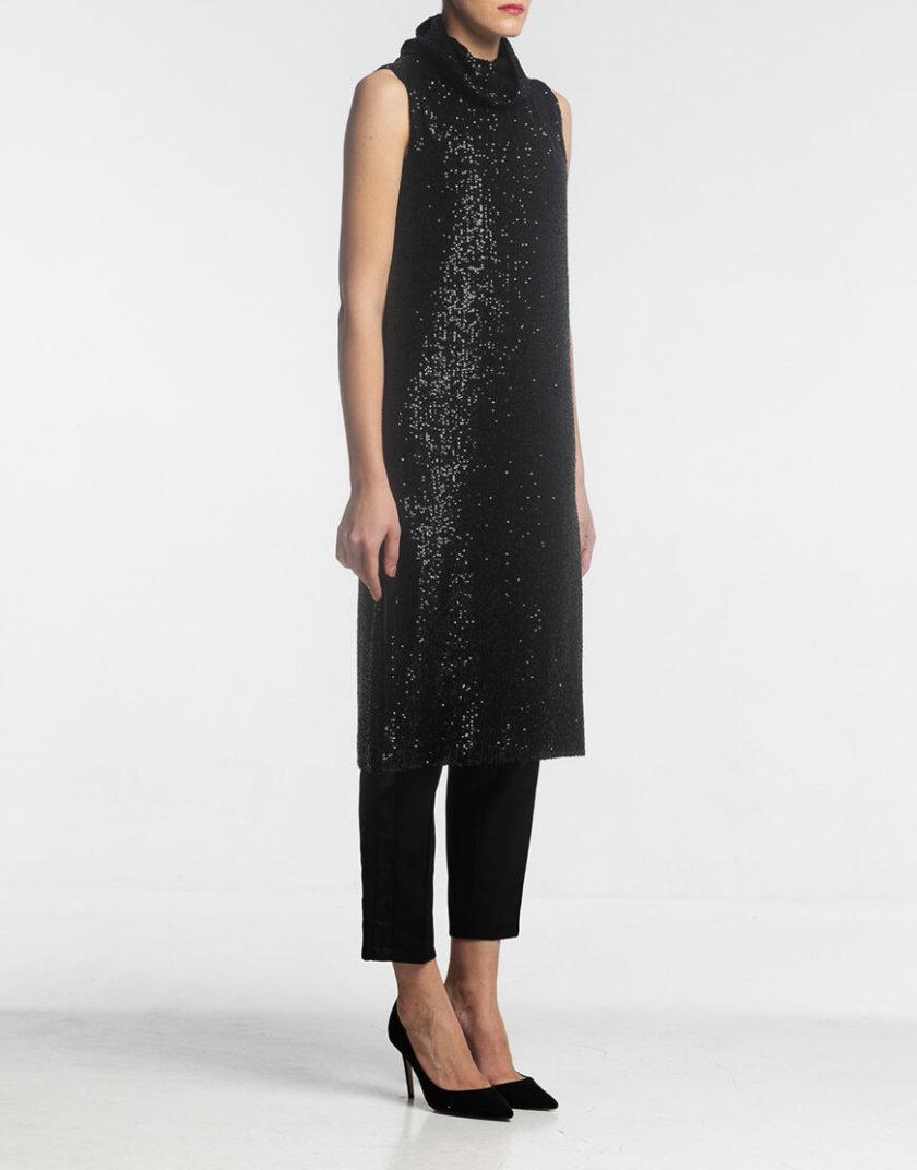 Платье-туника в пайетки ALOT_100371, фото 1 - в интернет магазине KAPSULA