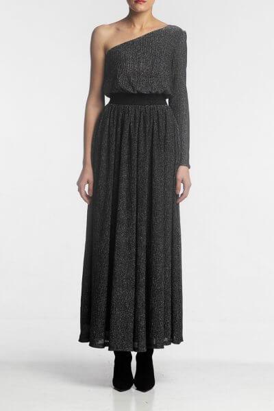 Платье макси на одно плечо ALOT_100372, фото 1 - в интеренет магазине KAPSULA