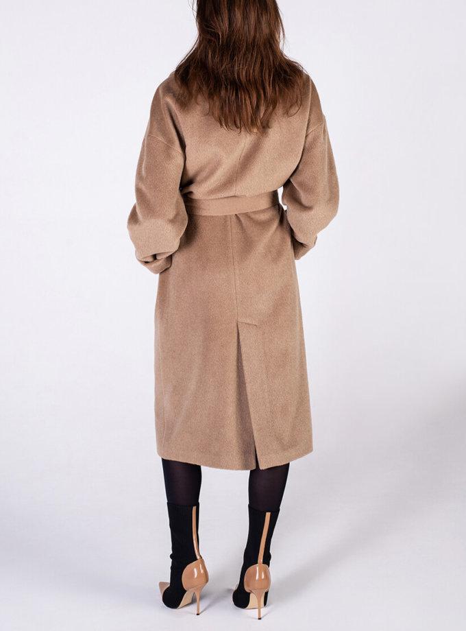 Объемное пальто из альпаки BEAVR_BA_FW19-20_61, фото 1 - в интернет магазине KAPSULA