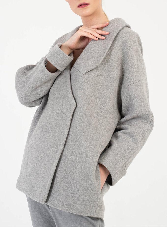 Укороченное пальто из шерсти BEAVR_BA_FW19-20_62, фото 1 - в интернет магазине KAPSULA