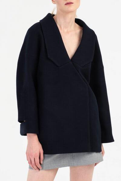 Укороченное пальто из шерсти BEAVR_BA_FW19-20_63, фото 7 - в интеренет магазине KAPSULA