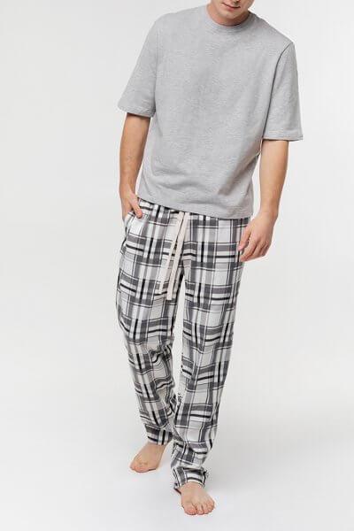 Мужские брюки в клетку BLCGR_557, фото 1 - в интеренет магазине KAPSULA