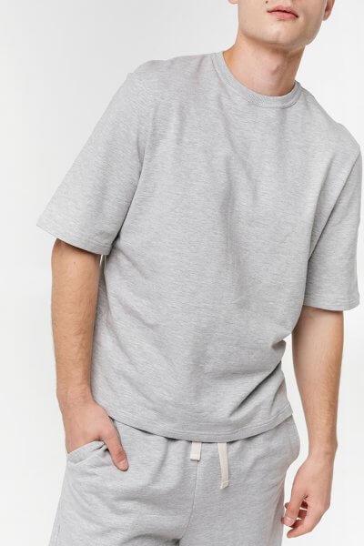 Мужская футболка из хлопка BLCGR_577, фото 1 - в интеренет магазине KAPSULA