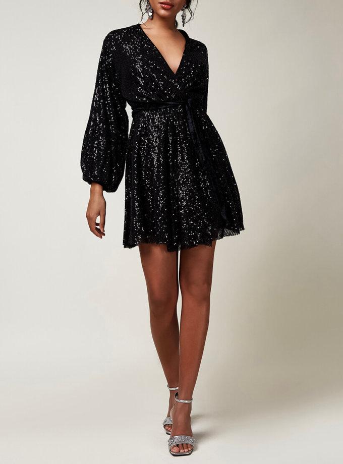 Платье мини в пайетки CVR_CNY20202CH, фото 1 - в интернет магазине KAPSULA