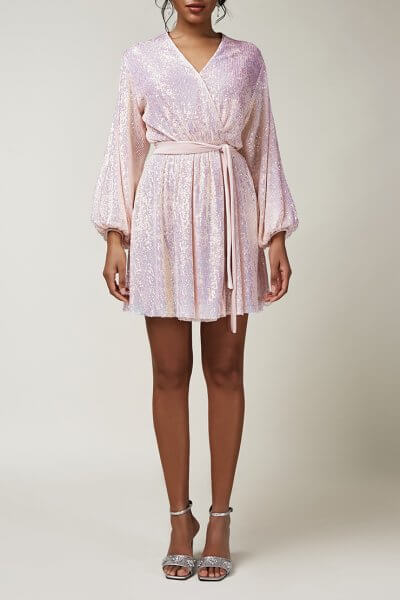 Платье мини в пайетки CVR_CNY20202R, фото 5 - в интеренет магазине KAPSULA