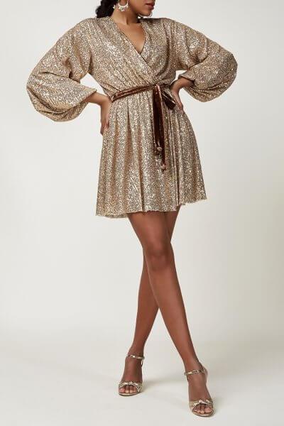 Платье мини в пайетки CVR_CNY20202Z, фото 1 - в интеренет магазине KAPSULA