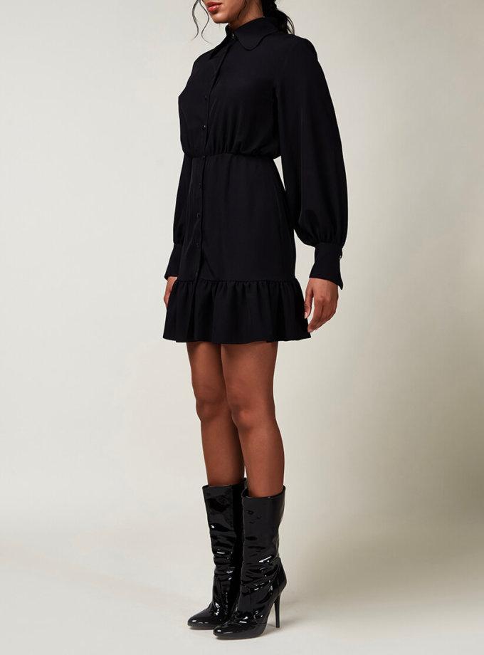 Платье мини с клевером CVR_CNY2020INDI, фото 1 - в интернет магазине KAPSULA