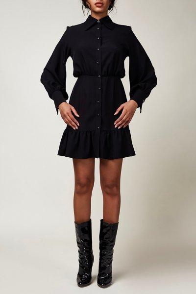 Платье мини с клевером CVR_CNY2020INDI, фото 6 - в интеренет магазине KAPSULA