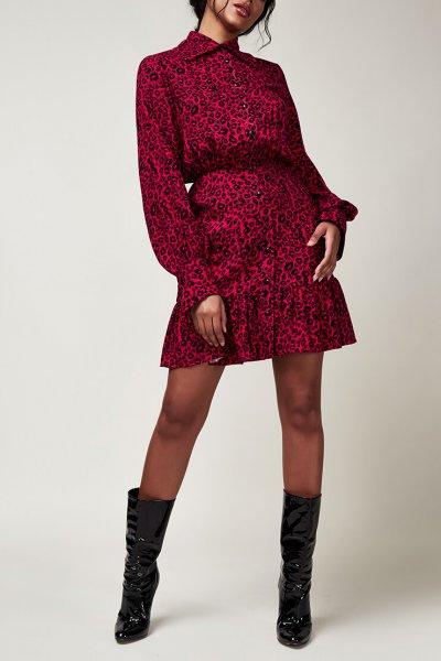 Платье на пуговицах CVR_CNY2020LEO, фото 1 - в интеренет магазине KAPSULA