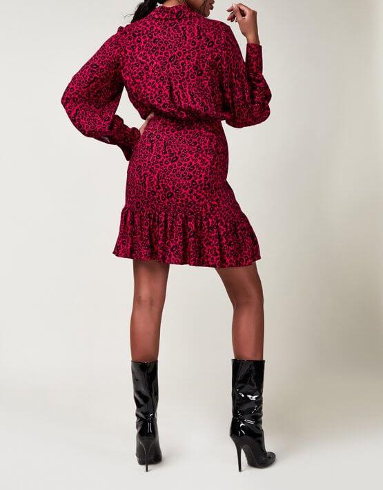 Платье на пуговицах CVR_CNY2020LEO, фото 5 - в интеренет магазине KAPSULA