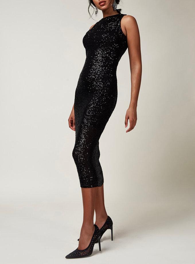 Платье-футляр в пайетки CVR_CNY2020MAF, фото 1 - в интернет магазине KAPSULA