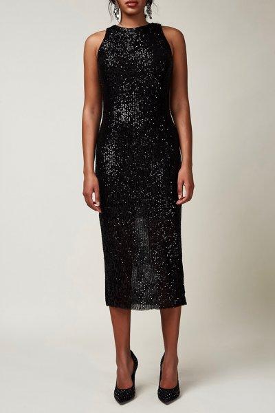 Платье-футляр в пайетки CVR_CNY2020MAF, фото 1 - в интеренет магазине KAPSULA