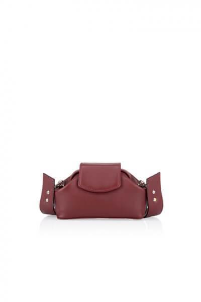 Кожаная сумка-саквояж Baby Chic GR_BC_BB_BURG, фото 4 - в интеренет магазине KAPSULA