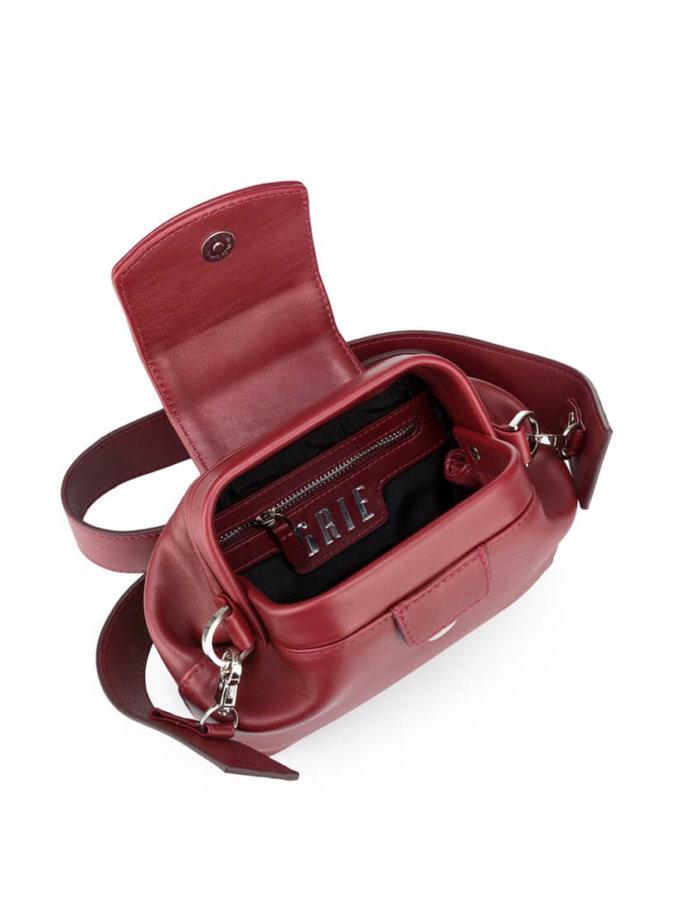 Кожаная сумка-саквояж Baby Chic GR_BC_BB_BURG, фото 1 - в интеренет магазине KAPSULA