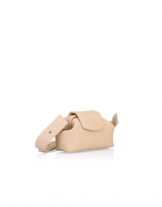 Кожаная сумка-саквояж Baby Chic GR_BC_BB_NUDE, фото 5 - в интеренет магазине KAPSULA