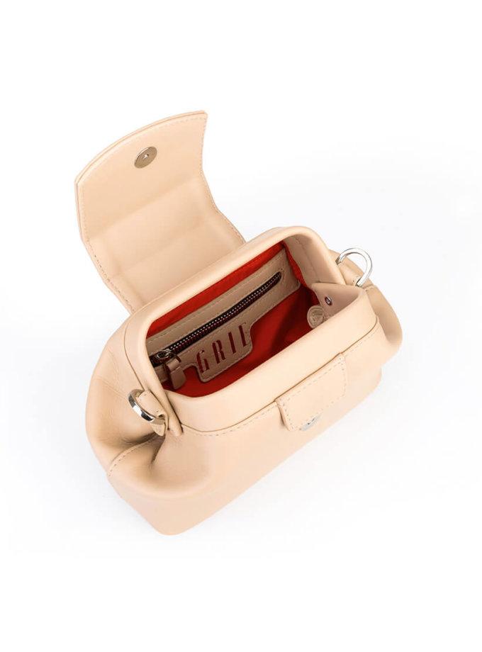 Кожаная сумка-саквояж Baby Chic GR_BC_BB_NUDE, фото 1 - в интеренет магазине KAPSULA
