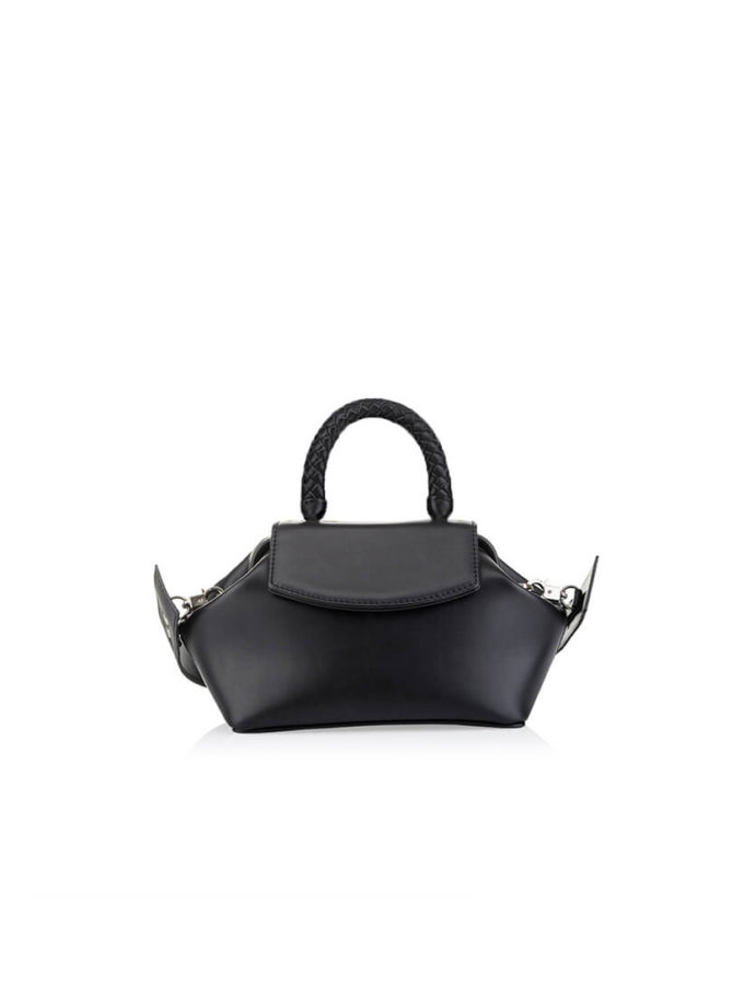 Кожаная сумка-саквояж Mimi GR_BC_MM_BLACK, фото 1 - в интеренет магазине KAPSULA