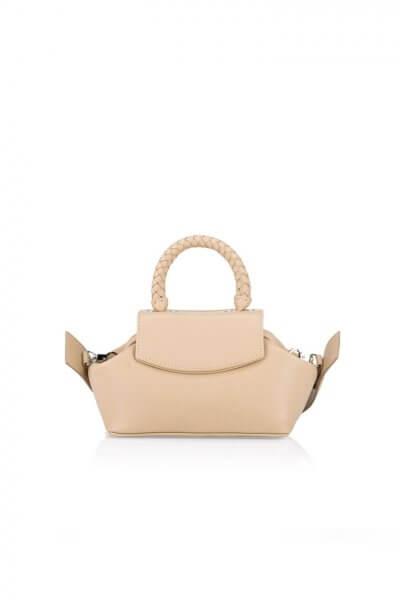 Кожаная сумка-саквояж Mimi GR_BC_MM_NUDE, фото 1 - в интеренет магазине KAPSULA