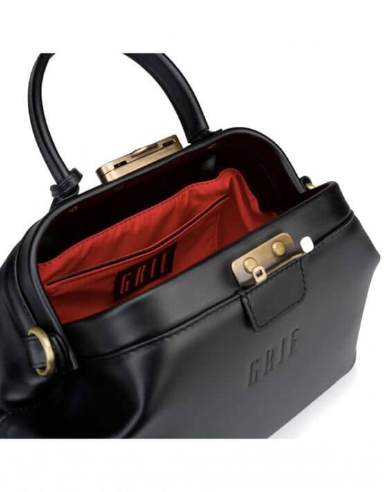 Кожаная сумка-саквояж Noble GR_BC_NBL_P_BLACK, фото 5 - в интеренет магазине KAPSULA