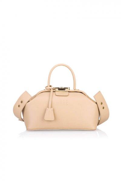 Кожаная сумка-саквояж Noble GR_BC_NBL_P_NUDE, фото 1 - в интеренет магазине KAPSULA