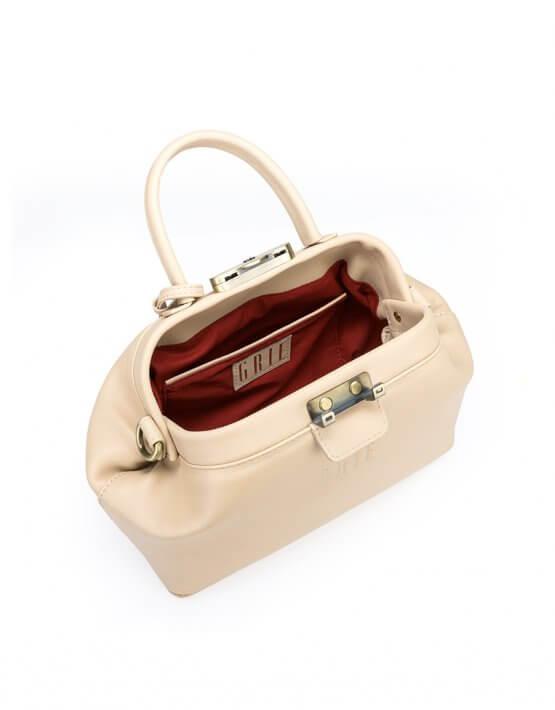Кожаная сумка-саквояж Noble GR_BC_NBL_P_NUDE, фото 5 - в интеренет магазине KAPSULA