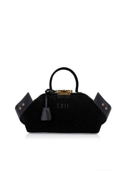 Кожаная сумка-саквояж Noble GR_BC_NBL_S_BLACK, фото 1 - в интеренет магазине KAPSULA