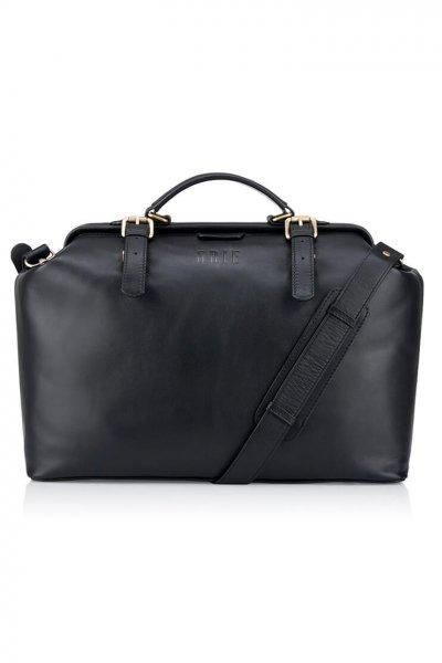 Дорожная сумка-саквояж Weekender из кожи GR_BC_WKNDR_BLACK, фото 1 - в интеренет магазине KAPSULA