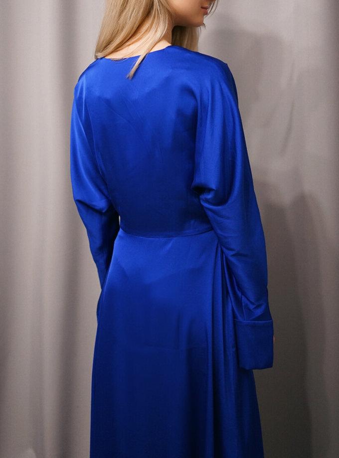 Шелковое платье миди NVL_Fw19_9, фото 1 - в интеренет магазине KAPSULA