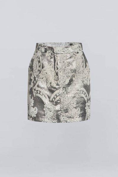Юбка мини из жаккарда IRRO_IR_WC19_SS_009, фото 1 - в интеренет магазине KAPSULA