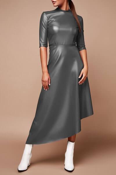 Платье из эко-кожи LDCH_1970, фото 1 - в интеренет магазине KAPSULA