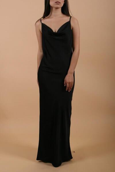 Шелковое платье на тонких бретелях LSO_FW 19-20-5, фото 1 - в интеренет магазине KAPSULA
