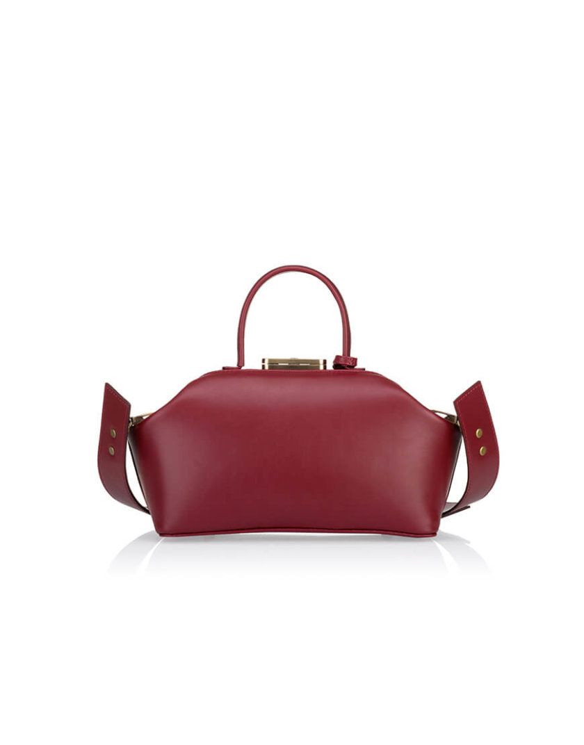 Кожаная сумка-саквояж GRIE Noble GR_BC_NBL_P_BURG, фото 1 - в интеренет магазине KAPSULA