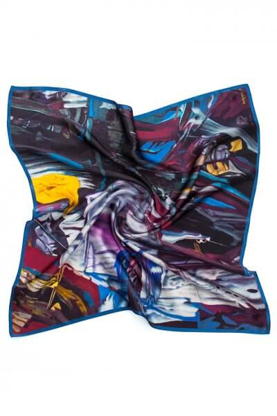 Шелковый платок 65х65 см OLZ_KS_SS152, фото 1 - в интеренет магазине KAPSULA