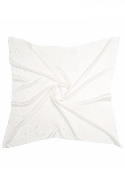 Шелковый платок со звездами 100х100 см OLZ_KS_SS153, фото 1 - в интеренет магазине KAPSULA