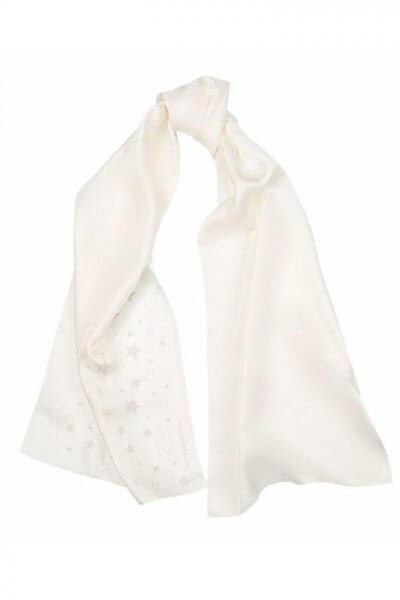 Шелковая шаль со звездами OLZ_KS_SS154, фото 1 - в интеренет магазине KAPSULA