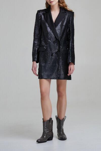 Платье жакет с пайетками SAYYA _FW 847, фото 1 - в интеренет магазине KAPSULA
