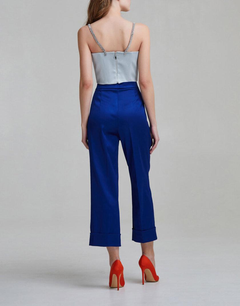Укороченные брюки на высокой посадке SAYYA _FW953-2, фото 1 - в интернет магазине KAPSULA
