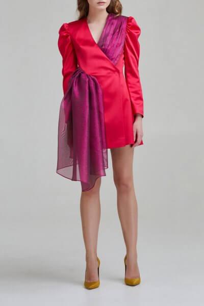 Атласное платье-жакет SAYYA _FW955-1, фото 1 - в интеренет магазине KAPSULA