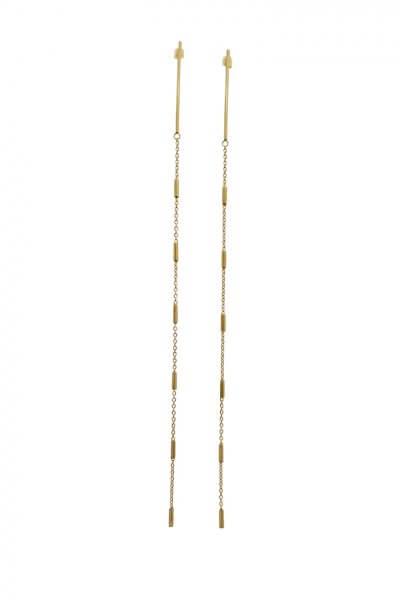 Серьги GOLDEN ROAD STJW_ER147-GOLD, фото 1 - в интеренет магазине KAPSULA