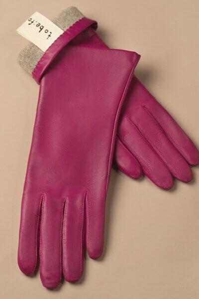 Зимние кожаные перчатки до запястья TOBE_cl_45_pk_wl, фото 1 - в интеренет магазине KAPSULA