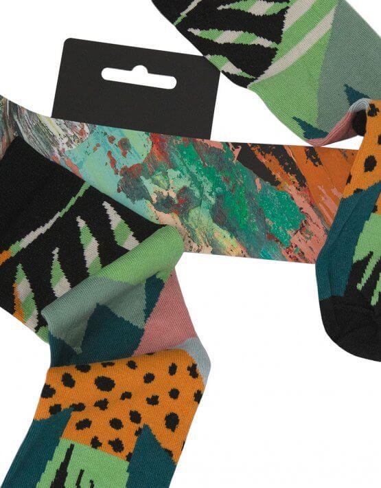 Носки Vernal Sunshine из мерсеризованного хлопка UHR_2VS_1_19_MERC, фото 5 - в интеренет магазине KAPSULA