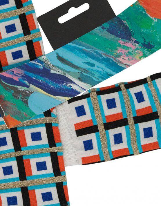 Носки Magic Square с люрексом UHR_4MS_1_19_MERC, фото 5 - в интеренет магазине KAPSULA