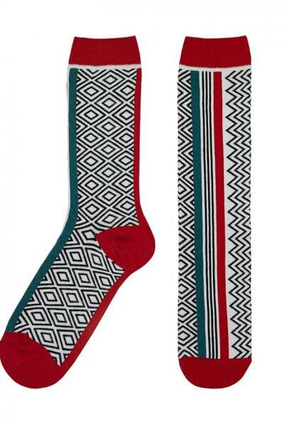 Носки Vertical из мерсеризованного хлопка UHR_5V_1_19_MERC, фото 1 - в интеренет магазине KAPSULA