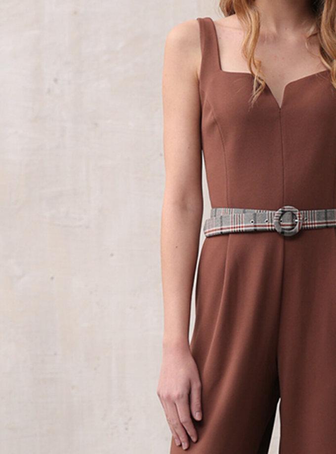 Комбинезон с широкими брюками VONA_FW-19-20-106, фото 1 - в интеренет магазине KAPSULA