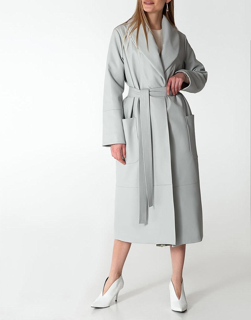 Утеплённое пальто из эко-кожи WNDR_Fw1920_elgr_10, фото 1 - в интеренет магазине KAPSULA