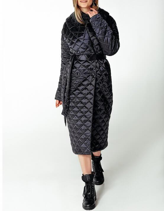 Стеганое пальто на утеплителе WNDR_Fw1920_spblck_09, фото 6 - в интеренет магазине KAPSULA