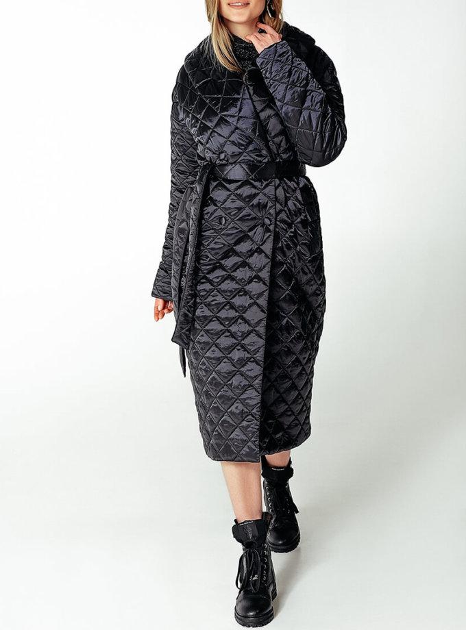 Стеганое пальто на утеплителе WNDR_Fw1920_spblck_09, фото 1 - в интернет магазине KAPSULA