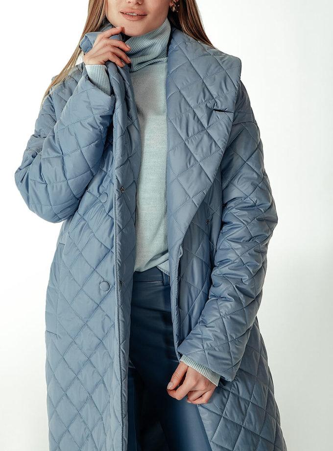 Стеганое пальто на утеплителе WNDR_Fw1920_spdb_09, фото 1 - в интернет магазине KAPSULA